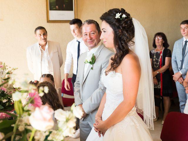 Le mariage de Eric et Delphine à Ordan-Larroque, Gers 11