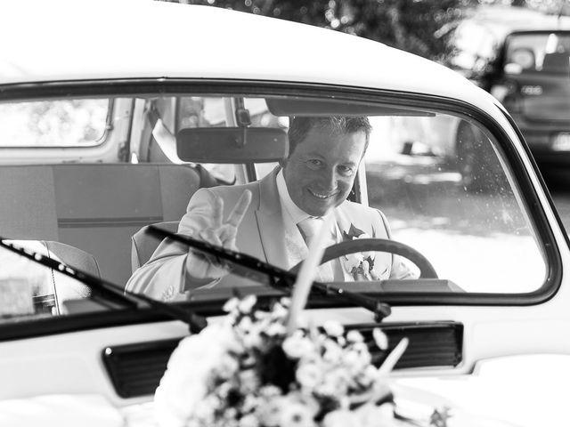 Le mariage de Eric et Delphine à Ordan-Larroque, Gers 18
