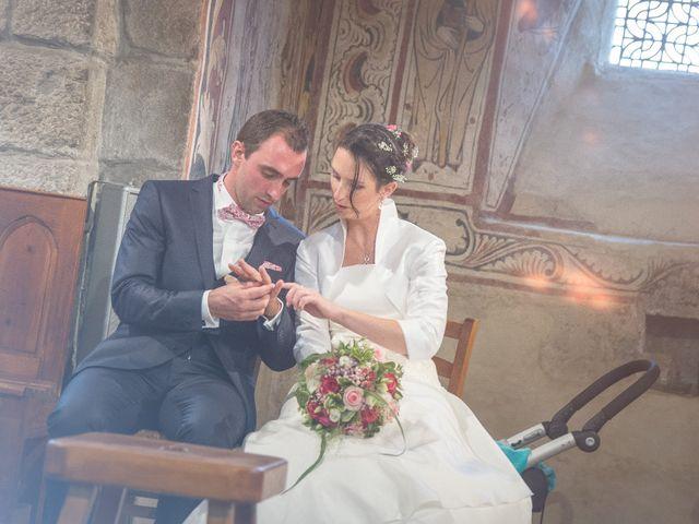 Le mariage de Franck et Laure à Grandrieu, Lozère 2