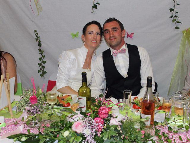Le mariage de Franck et Laure à Grandrieu, Lozère 7