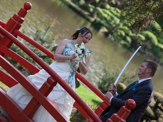 Le mariage de Jeremy et Amanda à Cerizay, Deux-Sèvres 2