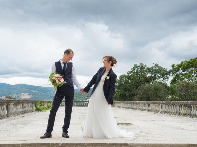 Le mariage de Loïc et Clothilde à Saint-Clair, Ardèche 8