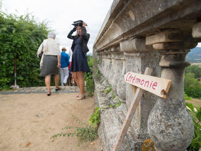 Le mariage de Loïc et Clothilde à Saint-Clair, Ardèche 26
