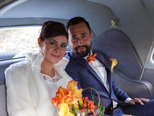 Le mariage de David et Amandine à La Chevallerais, Loire Atlantique 7