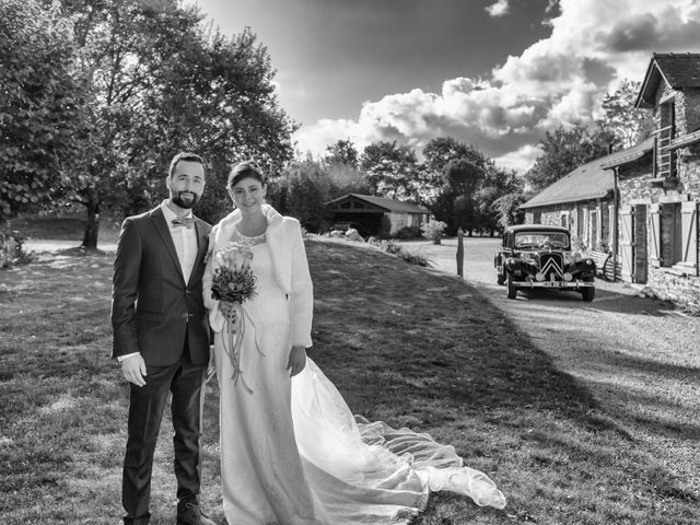 Le mariage de David et Amandine à La Chevallerais, Loire Atlantique 9