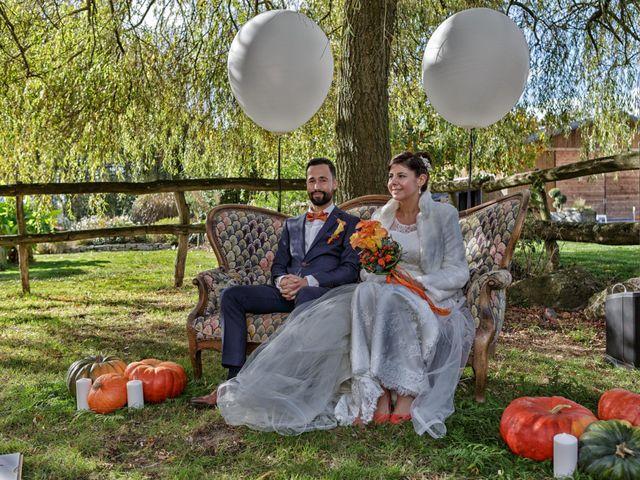 Le mariage de David et Amandine à La Chevallerais, Loire Atlantique 10