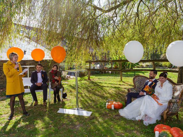 Le mariage de David et Amandine à La Chevallerais, Loire Atlantique 11