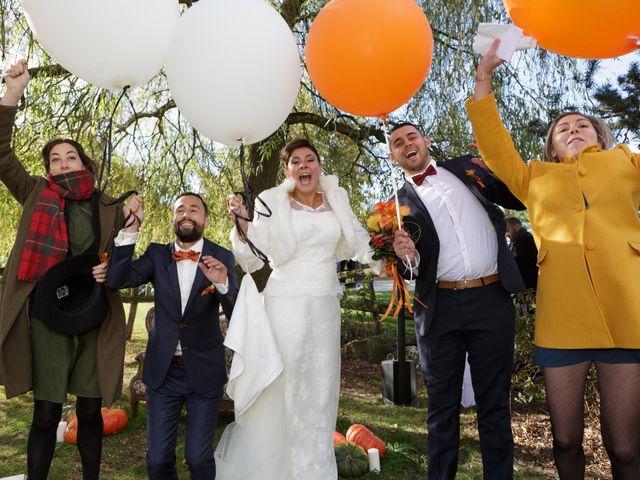 Le mariage de David et Amandine à La Chevallerais, Loire Atlantique 16