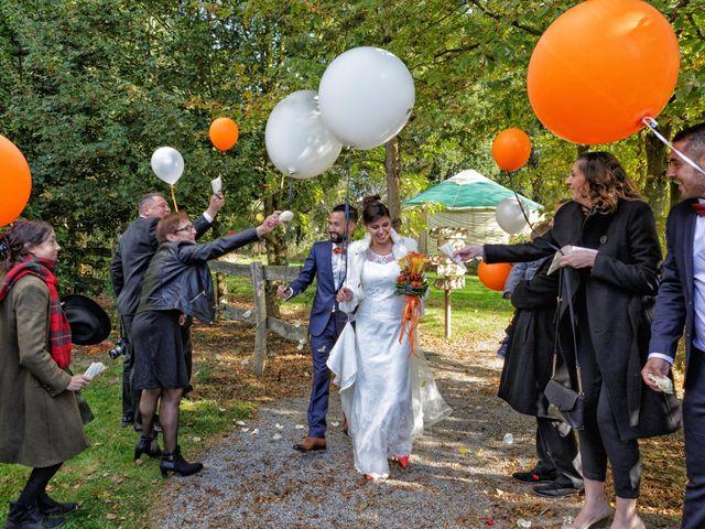 Le mariage de David et Amandine à La Chevallerais, Loire Atlantique 22