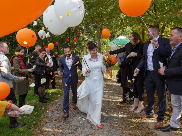 Le mariage de David et Amandine à La Chevallerais, Loire Atlantique 23