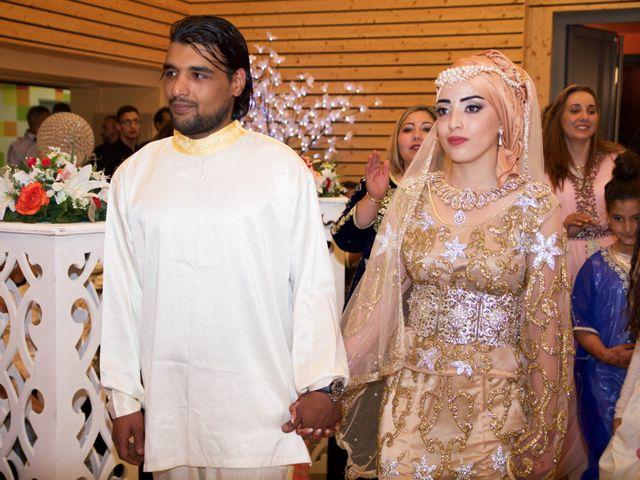 Le mariage de Sébastien et Habiba à Lédignan, Gard 14
