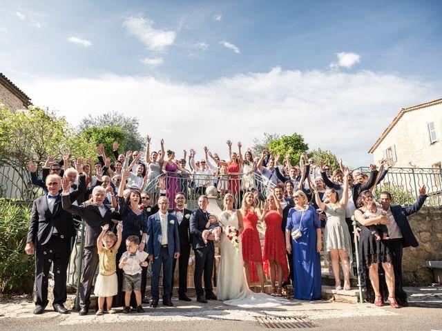 Le mariage de Yoann et Jessica à Le Rouret, Alpes-Maritimes 25
