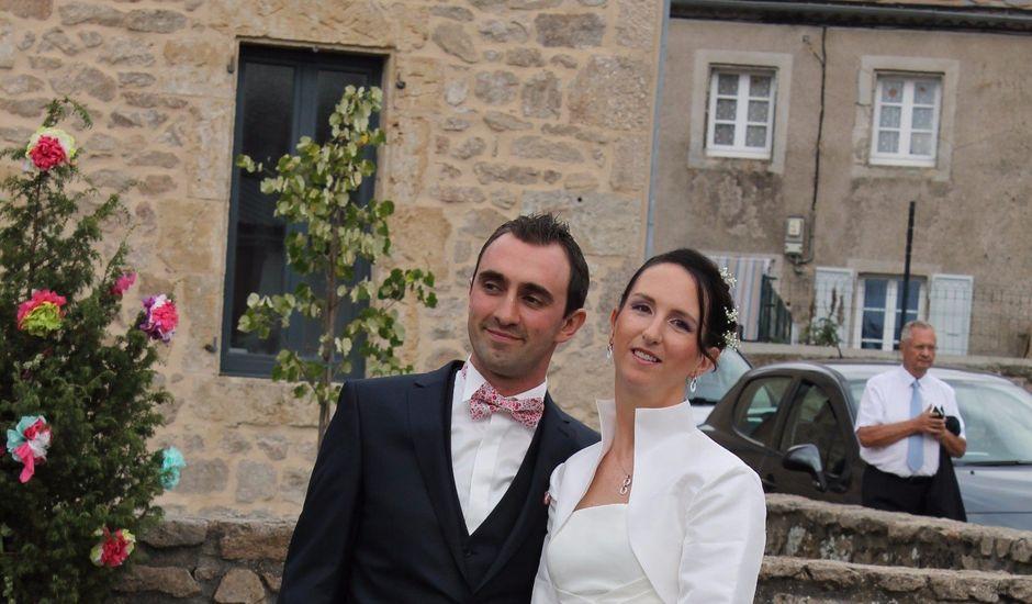 Le mariage de Franck et Laure à Grandrieu, Lozère