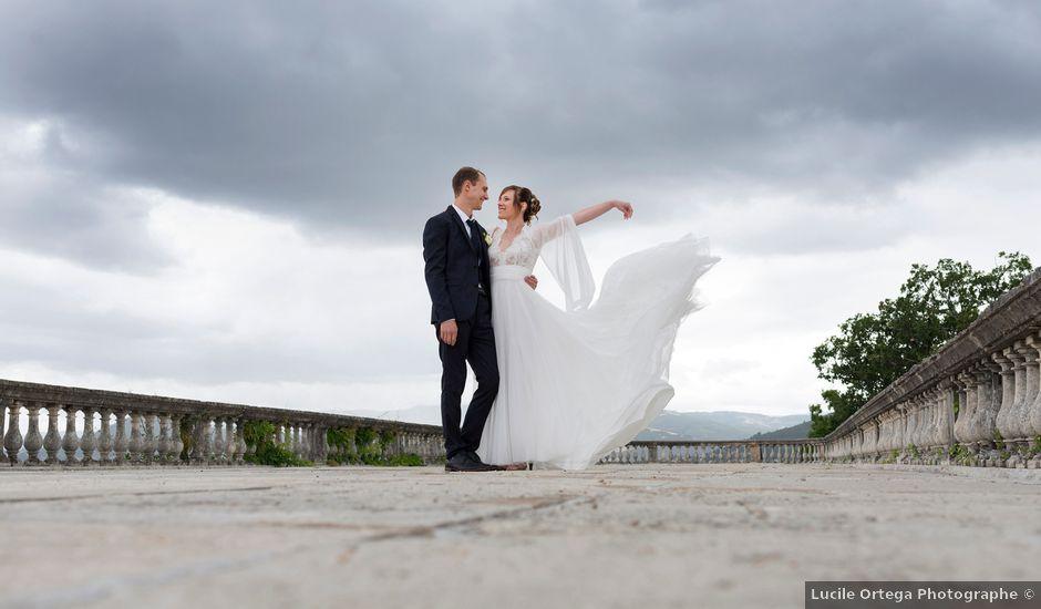 Le mariage de Loïc et Clothilde à Saint-Clair, Ardèche