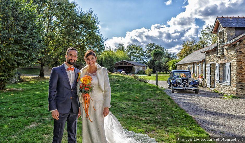 Le mariage de David et Amandine à La Chevallerais, Loire Atlantique