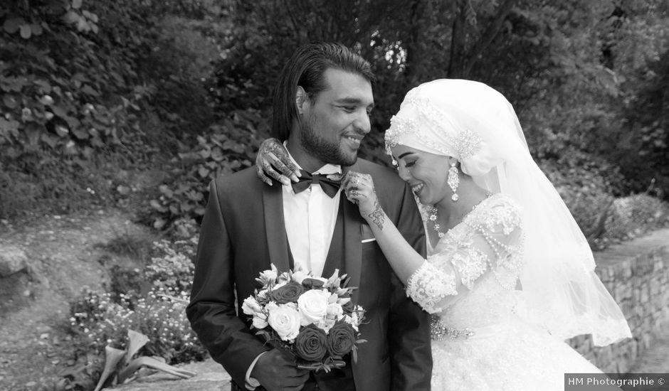 Le mariage de Sébastien et Habiba à Lédignan, Gard