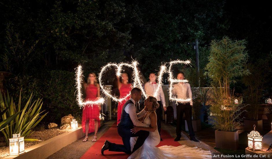 Le mariage de Yoann et Jessica à Le Rouret, Alpes-Maritimes