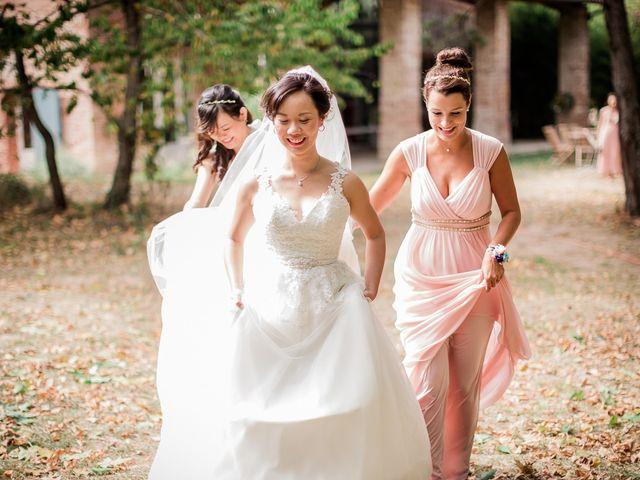 Le mariage de Gérald et Selyn à Saint-Geniès-Bellevue, Haute-Garonne 19