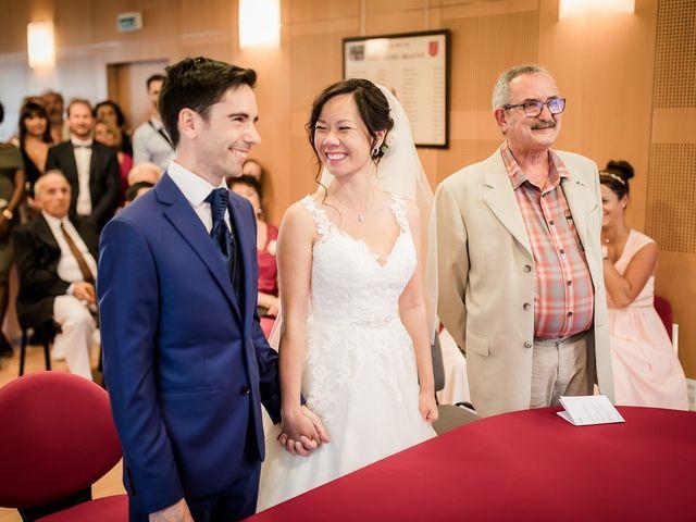 Le mariage de Gérald et Selyn à Saint-Geniès-Bellevue, Haute-Garonne 34