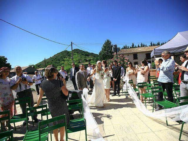 Le mariage de Julian et Léna à Limoux, Aude 33