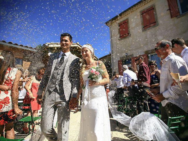 Le mariage de Julian et Léna à Limoux, Aude 37