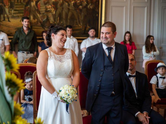 Le mariage de Cédric et Jenny à Châtellerault, Vienne 37