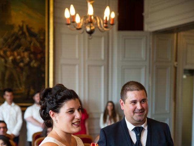 Le mariage de Cédric et Jenny à Châtellerault, Vienne 41