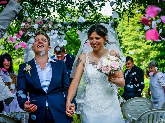 Le mariage de Camille et Stéphanie à Naintré, Vienne 53