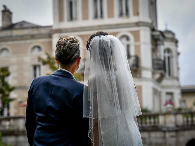 Le mariage de Camille et Stéphanie à Naintré, Vienne 76