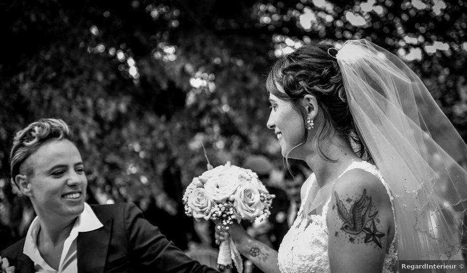 Le mariage de Camille et Stéphanie à Naintré, Vienne