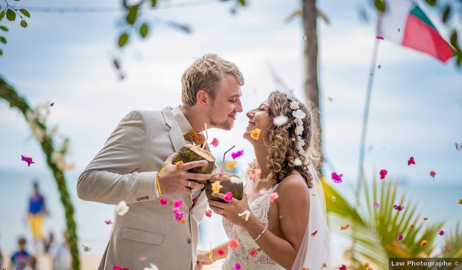Le mariage de Aurelien et Galina à Saint-Denis, La Réunion