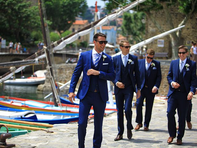 Le mariage de Nick et Emma à Collioure, Pyrénées-Orientales 2