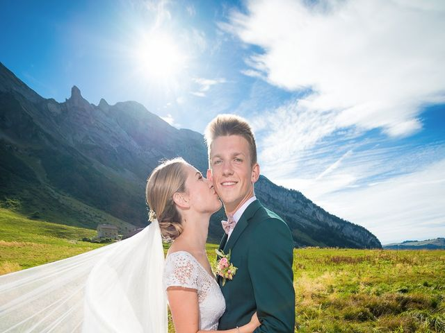 Le mariage de Adrien et Céline à La Clusaz, Haute-Savoie 29