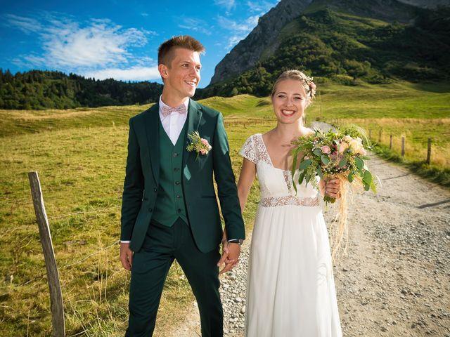 Le mariage de Adrien et Céline à La Clusaz, Haute-Savoie 32
