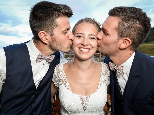 Le mariage de Adrien et Céline à La Clusaz, Haute-Savoie 36