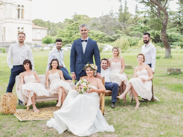 Le mariage de William et Virginie à Cruzy, Hérault 49