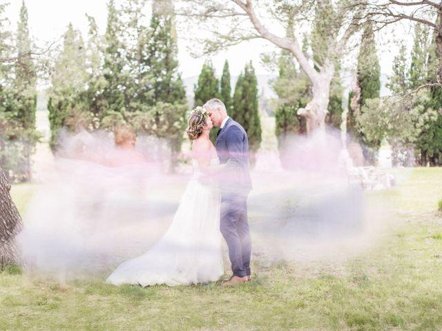 Le mariage de William et Virginie à Cruzy, Hérault 50