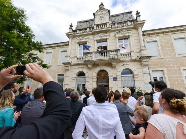 Le mariage de Thibaut et Aurélia à La Bégude-de-Mazenc, Drôme 14