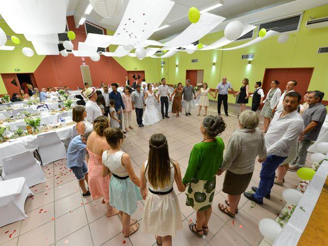 Le mariage de Thibaut et Aurélia à La Bégude-de-Mazenc, Drôme 25