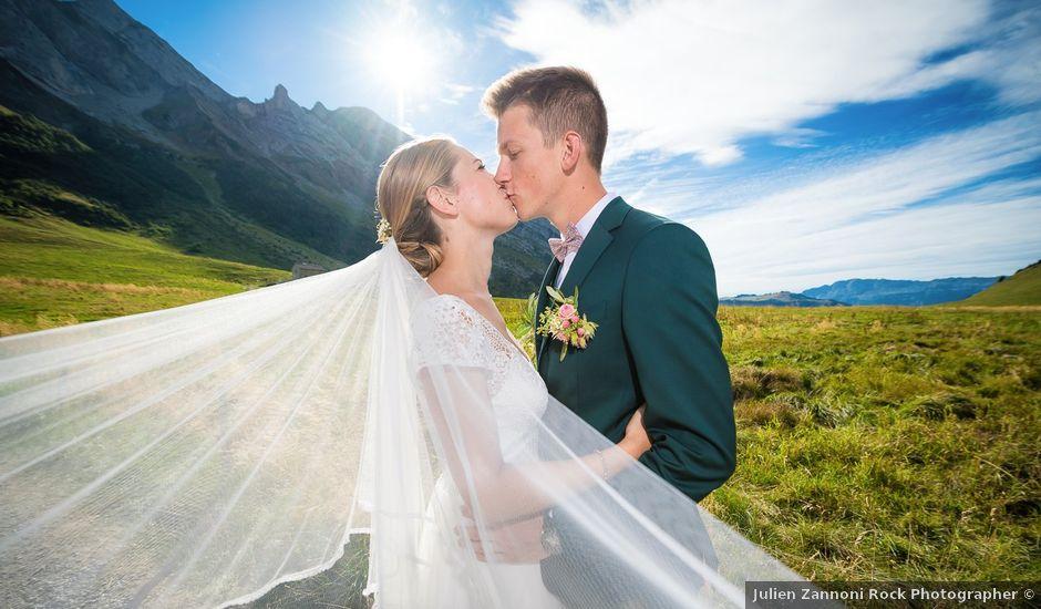 Le mariage de Adrien et Céline à La Clusaz, Haute-Savoie