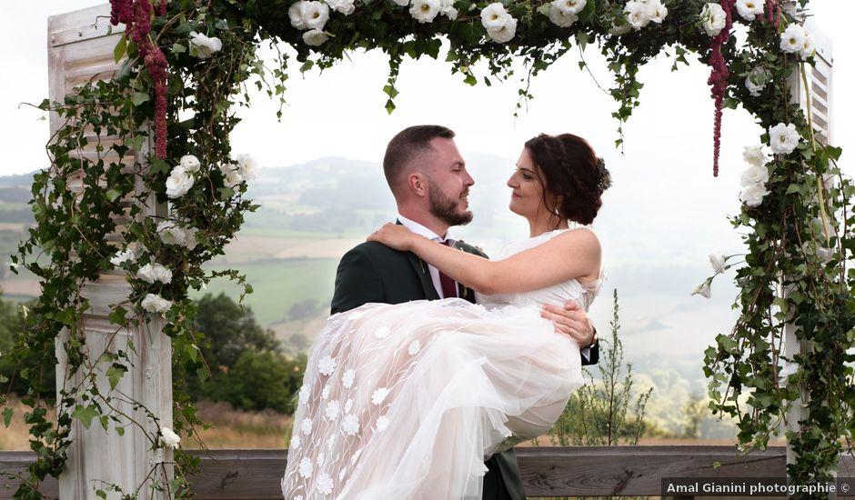 Le mariage de Anthony et Jessica à Saint-Forgeux, Rhône