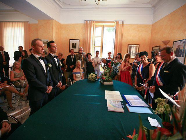Le mariage de Brett et David à Nîmes, Gard 17