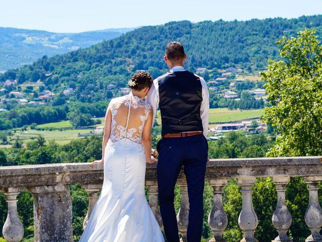 Le mariage de Romain et Elsa à Saint-Clair, Ardèche 12