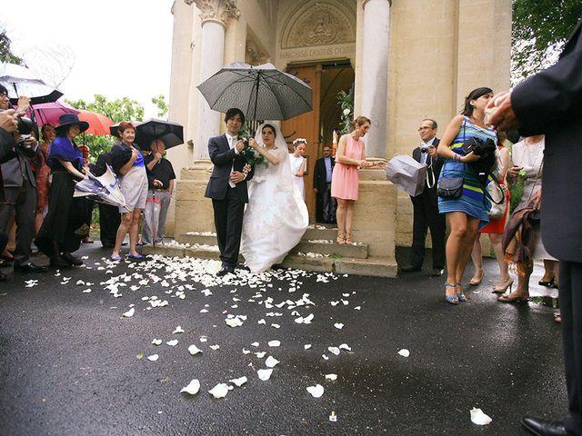 Le mariage de Yuta et Anouk à Vérargues, Hérault 25