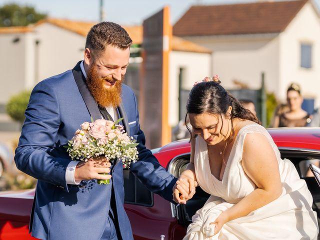 Le mariage de Tristan et Claire à Chauché, Vendée 7