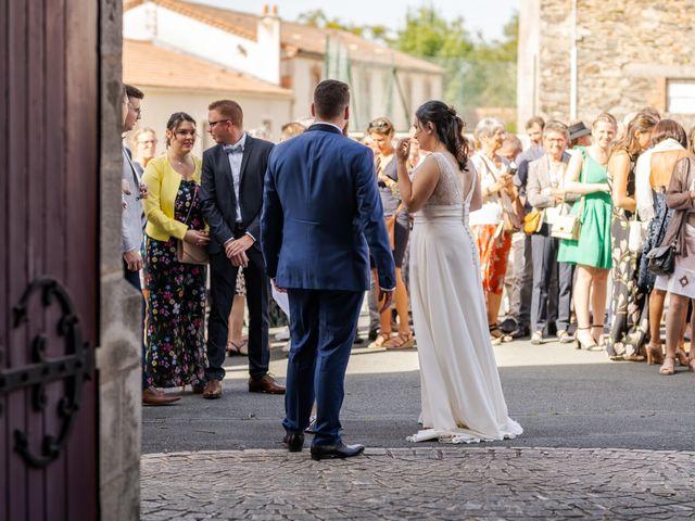 Le mariage de Tristan et Claire à Chauché, Vendée 29