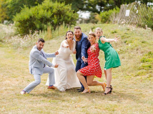 Le mariage de Tristan et Claire à Chauché, Vendée 34