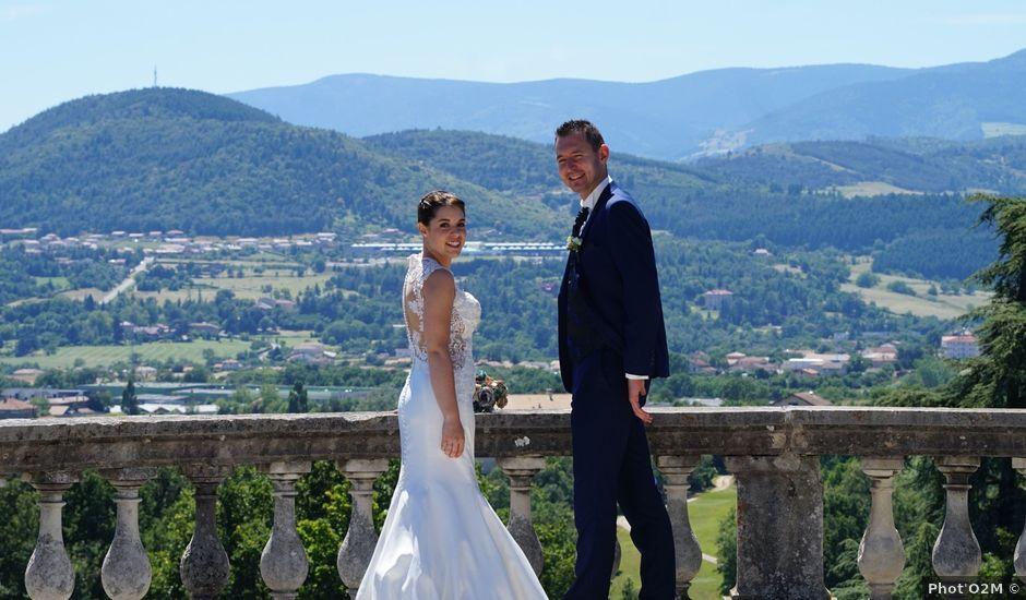 Le mariage de Romain et Elsa à Saint-Clair, Ardèche