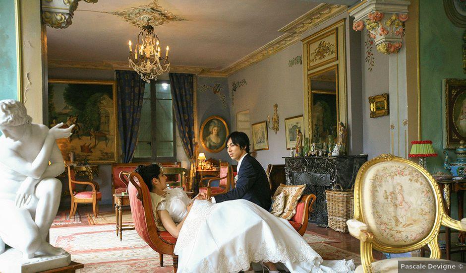 Le mariage de Yuta et Anouk à Vérargues, Hérault