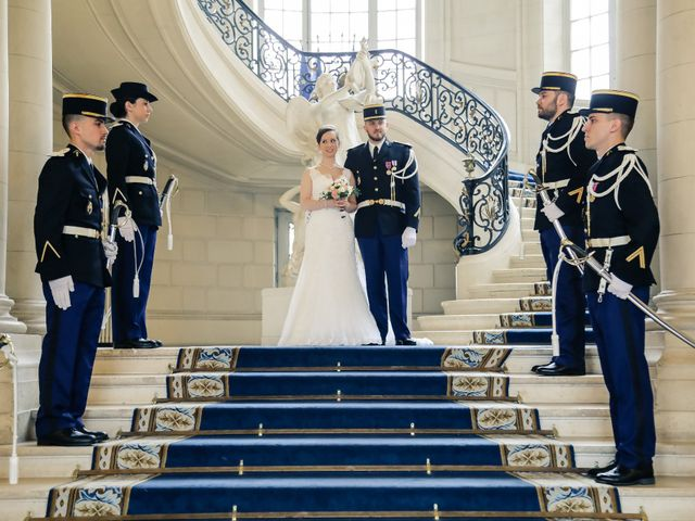 Le mariage de Alexandre et Elsa à Versailles, Yvelines 87